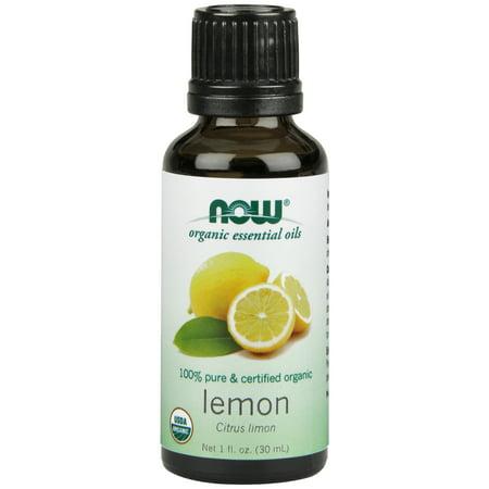 NOW Foods Lemon Oil Certified Organic 1 fl oz