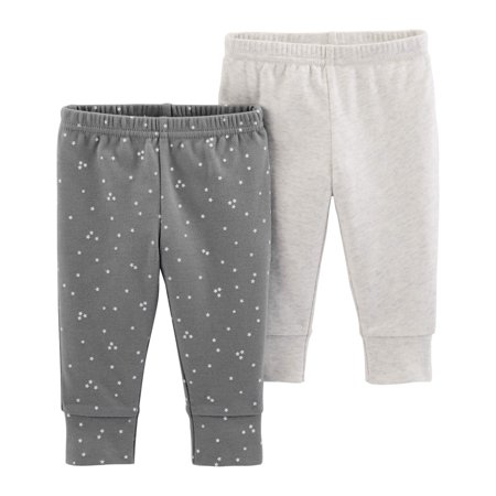 Child Of Mine By Carter's Pants, 2-pack (Baby Boys or Baby Girls, Unisex) Carters Boy Girl Baby Pants