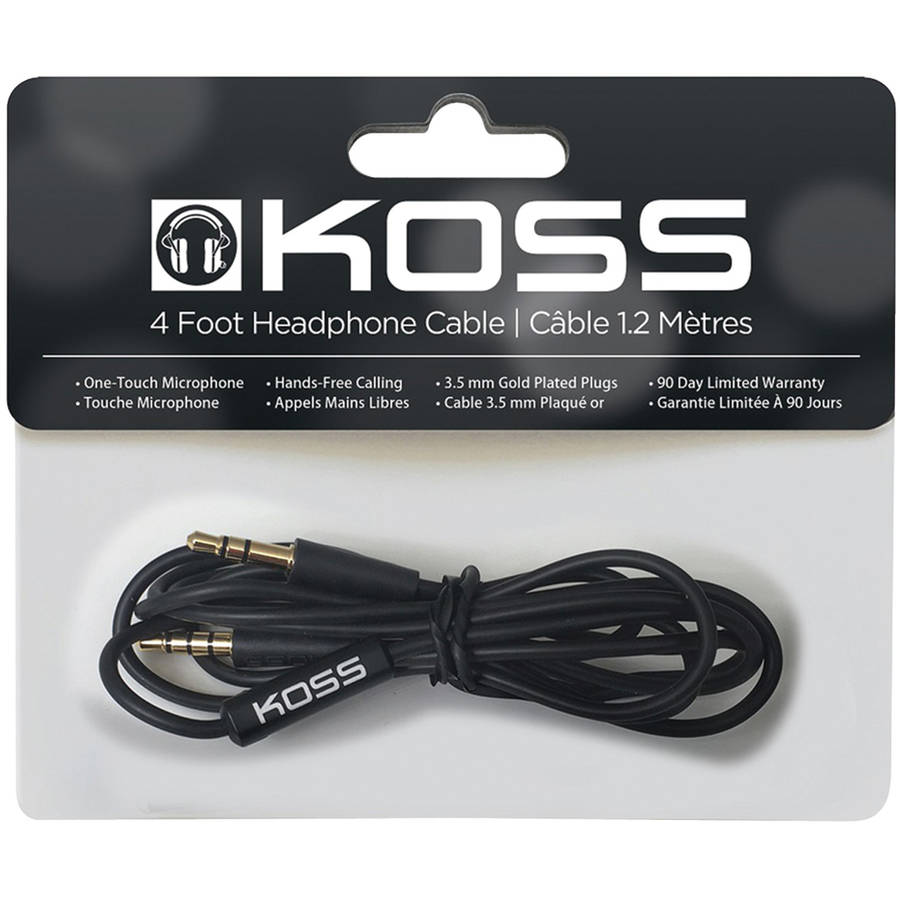 Koss CDM40HB Headphone Cable with Microphone