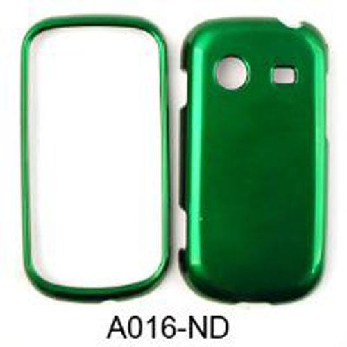 Cell Armor Snap-On Case for Samsung R640 - Honey Dark Green