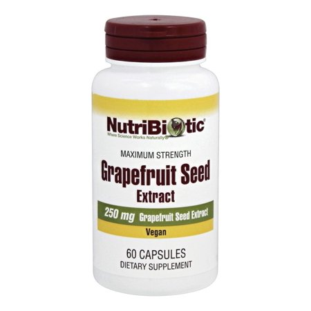 Nutribiotic - Maximum Strength Grapefruit Seed Extract 250 mg. - 60 Capsules ()