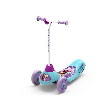 Pulse Performance Products Disney Frozen Safe Start 3-Wheel Electric Scooter
