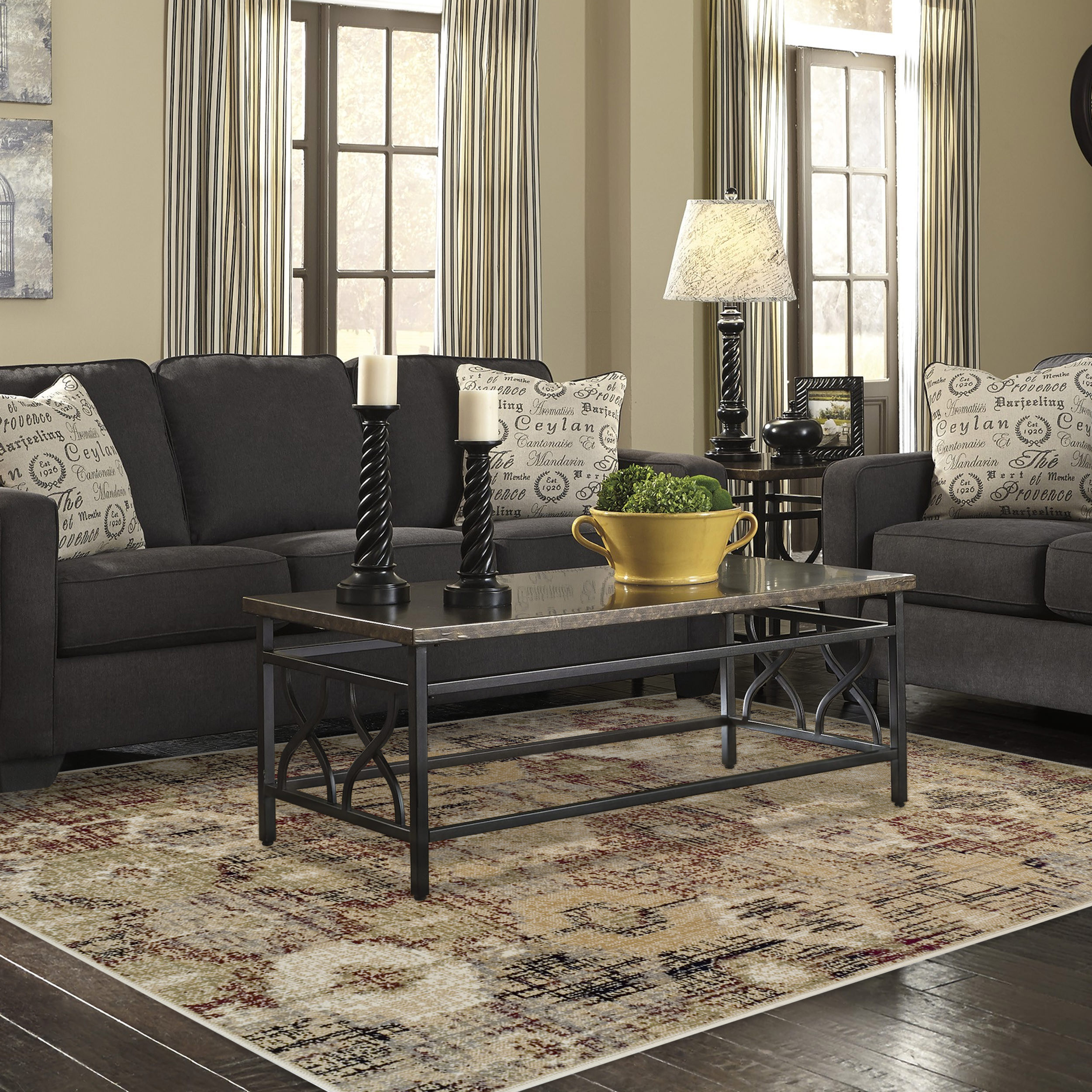 Superior Arabella with 8mm Pile Moisture Resistant and Anti-Static Area Rug