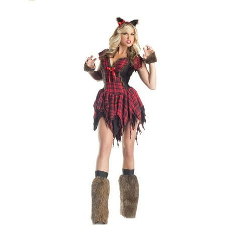 Werewolf Adult Halloween Costume - Female Werewolves