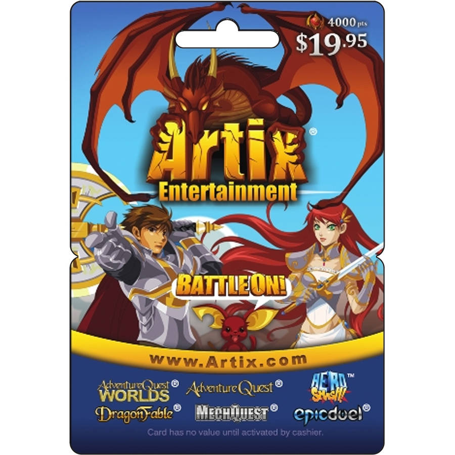 Artix BattleOn Games $19.95 eGift Card (Email Delivery)