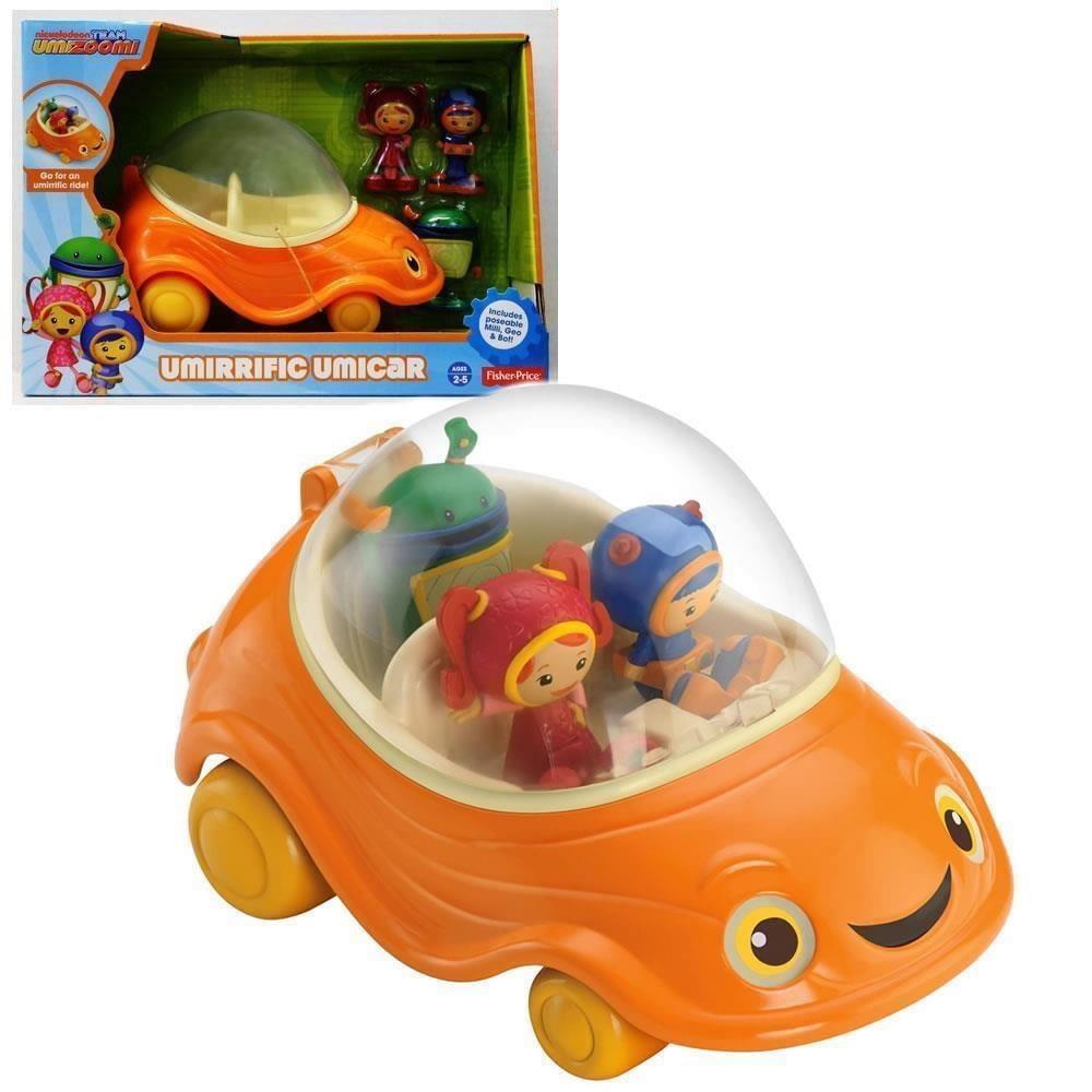 Team Umizoomi Umirrific Umicar Fisher Price umi zoomi car Bot Geo Milli Toy Y6495 by Fisher-Price