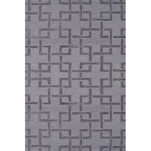 The Rug Market Shimmer Grey Size 2.8' x 4.8' Area Rug