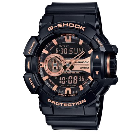 Casio G-Shock World Time Ana-Digi Mens Watch GA400GB-1A4CR