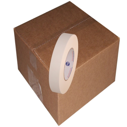 Intertape 591 Double Coated Flatback Paper Tape 1 inch x 36  yards 36 Roll Case