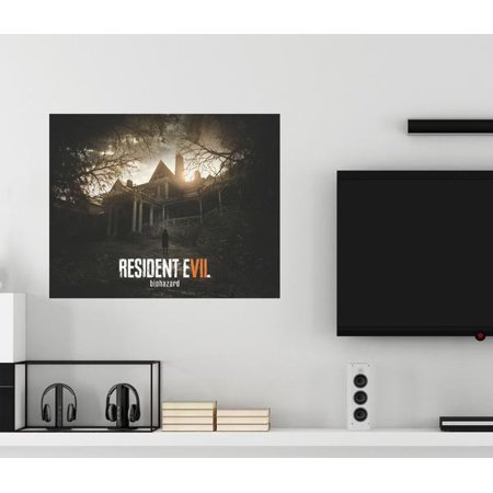 Resident Evil Biohazard Augmented Reality Wall Decal