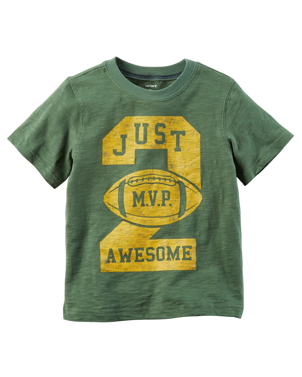 carter's little boys' awesome mvp graphic tee, 5 kids