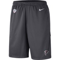 Atlanta Falcons Nike Sideline Coaches Performance Shorts - Charcoal