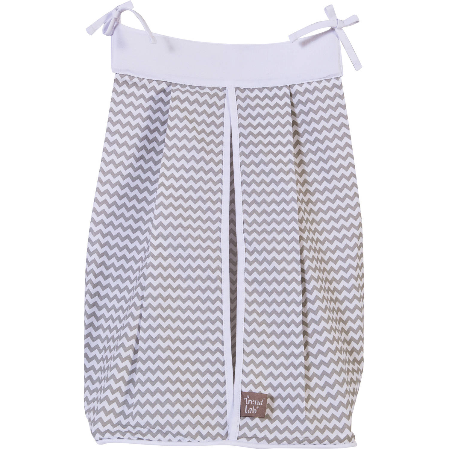Trend Lab Dove Gray Diaper Stacker