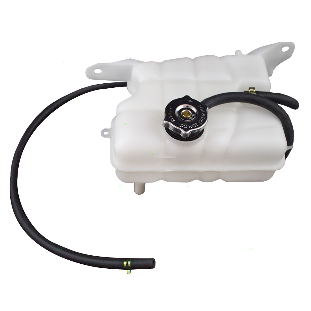 BROCK Coolant Overflow Expansion Recovery Tank Reservoir Bottle with Cap Replacement for 02-06 Jeep Liberty 3.7L SUV 52079788AE