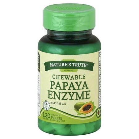 Natures Truth Natures Truth  Papaya Enzyme, 120 (Aloe Papaya)