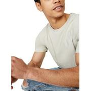 Cotton On Men's Essential Longline Curved Hem