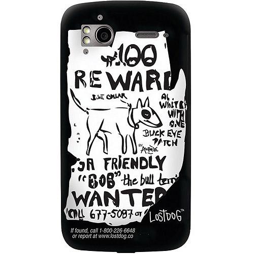 LOSTDOG L09-00001-01 HTC(R) Sensation(TM) Case (Black with LostDog(TM) memo artwork)