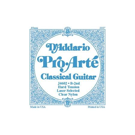 DAddario J46 B-2 Pro-Arte Clear Hard Single Classical Guitar String