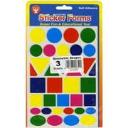 Sticker Forms-Geometric Shapes 105/Pkg
