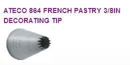 French Pastry Decorating Tip #864