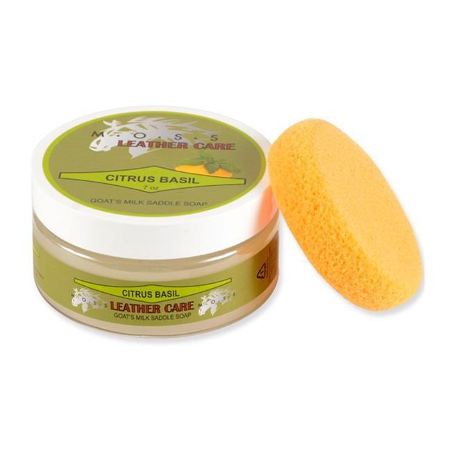 Nunn Finer 544-V Moss Saddle Soap - Vanilla