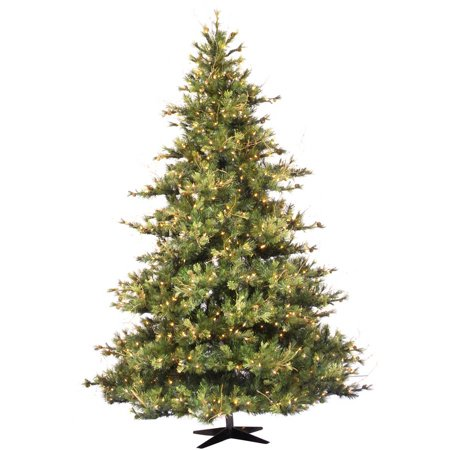 Vickerman 10' Mixed Country Pine Artificial Christmas Tree, Unlit