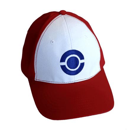 3632588e9c3 Ash Ketchum Hat Adult Baseball Cap Blue Pokeball Pokemon Costume Go Cosplay  Gift - image 1 ...