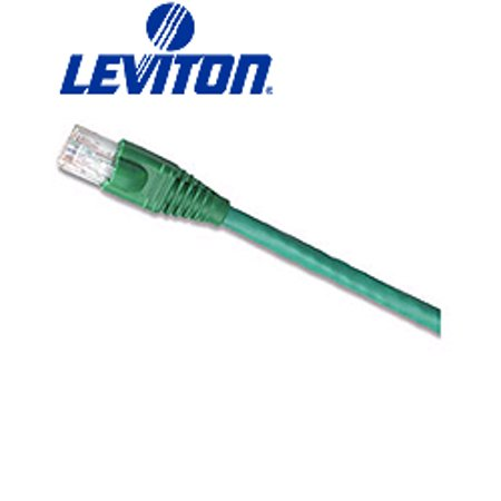 Leviton 62460-7G 7-Foot eXtreme 6  Standard Patch Cord - Green