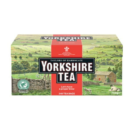 Yorkshire Bitter - Taylors of Harrogate Yorkshire Red Tea, 240 Tea Bags