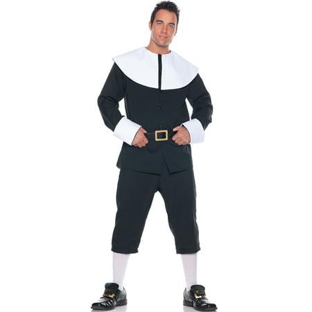 Basic Pilgrim Man Plus Size Costume (Male Pilgrim Costume)