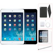 Refurbished Apple iPad Mini 32GB Black -WiFi - Bundle - Case, Rapid Charger, Tempered Glass & Stylus Pen