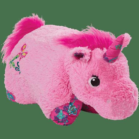 """Pillow Pets 18"""" Pink Unicorn Stuffed Animal Plush Toy ..."""