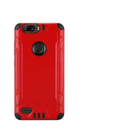 Phone Case for ZTE Blade Z Max, ZTE ZMax Pro 2, ZTE Sequoia, Metallic Brush Finish Cover Case