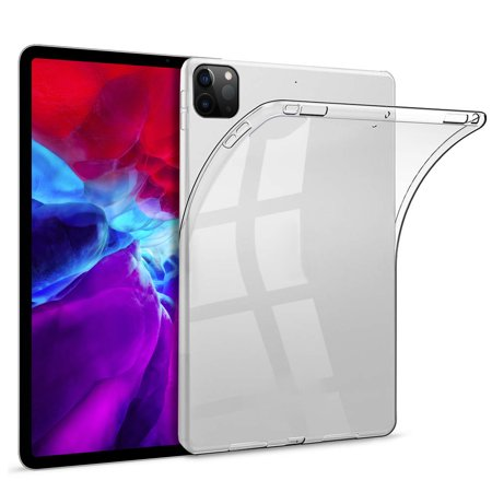 12.9 InchTPU iPad Pro Case 2020 Ultra Thin Flexible Soft Tablet Back Case Cover Anti-scratch Protective Transparent Case Clear - image 6 of 6