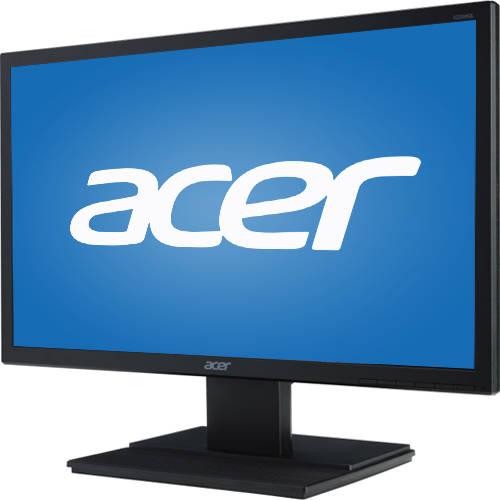 "Acer 21.5"" LED LCD Widescreen Monitor (V226HQLABMDP Black), Manufacturer Refurbished"