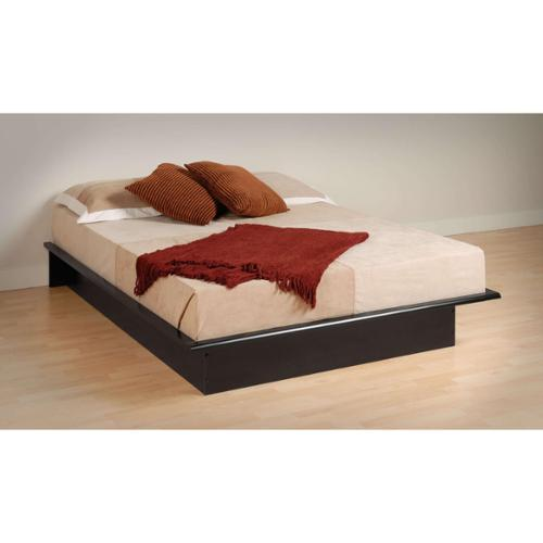 Prepac Broadway Black Queen Platform Bed by Overstock