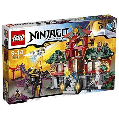 Lego NINJAGO® Battle for Ninjago City and Temple with 8 m...