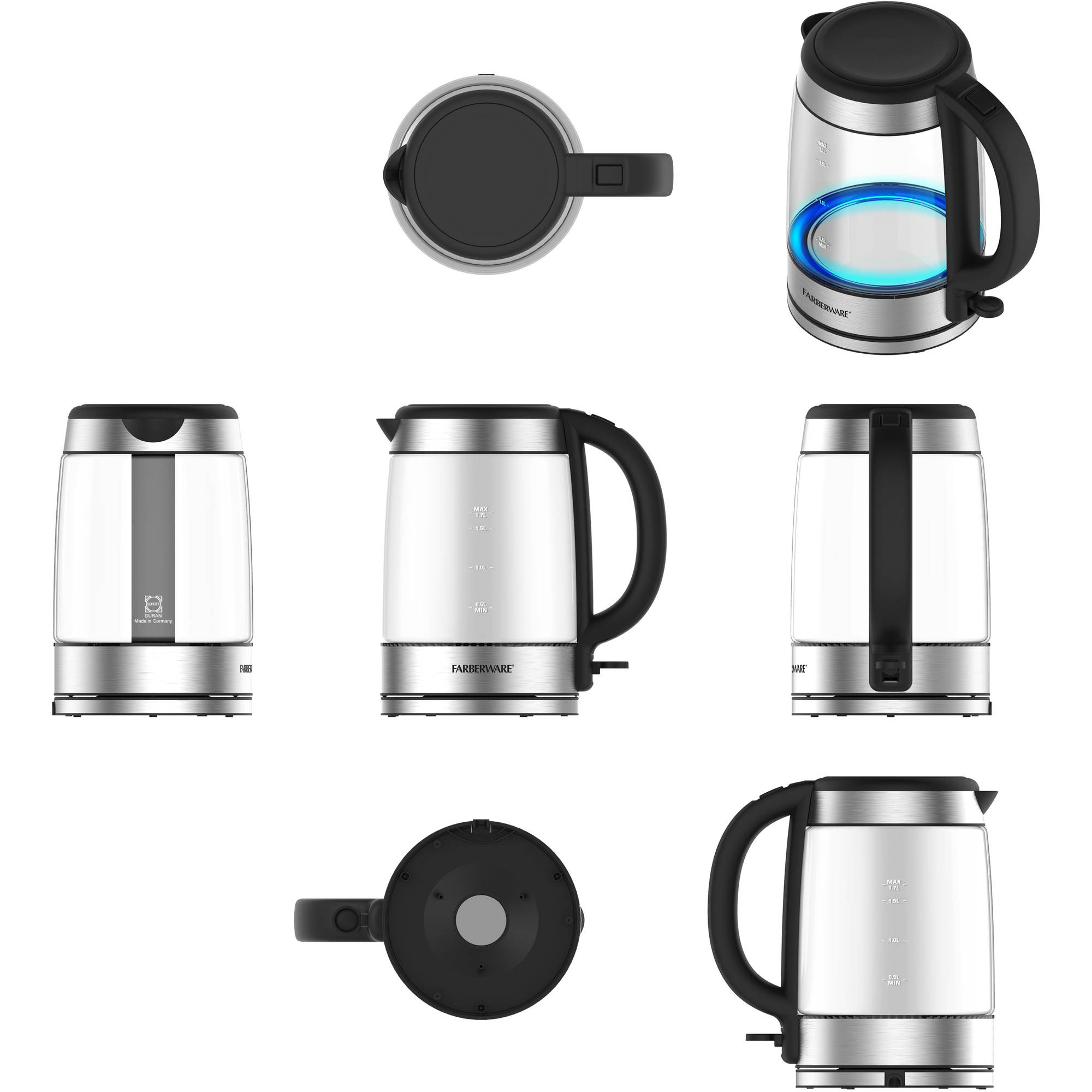 Farberware 1.7-Liter Glass Kettle by Wal-Mart Stores, Inc.