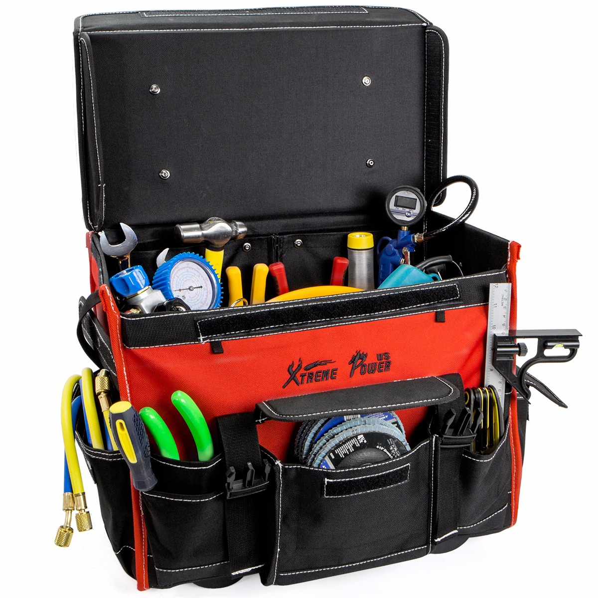 18 Portable Rolling Tool Bag Storage Organizer Hd With Wheels