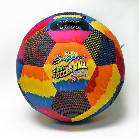Fun Gripper Tie Dye 24.0 Oversize Soccer Ball By: Saturnian