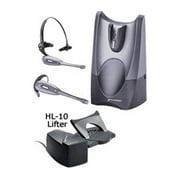 Plantronics CS50 Mono Wireless Convertible Headset & Lifter w/ Noise-Canceling Microphone
