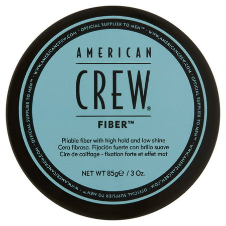 American Crew Fiber Pliable Fiber with High Hold and Low Shine, 3 oz