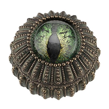 Sea Urchin Dragon Eye Decorative Trinket Box - Bronze - image 1 of 1