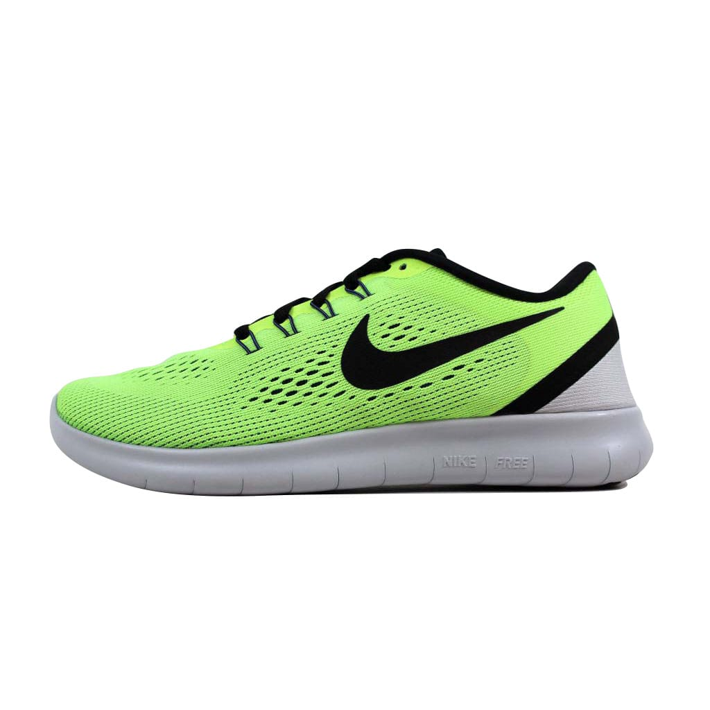 Nike Men's Free RN Ghost Green/Black-Blue Moon 831508-302 Size 6