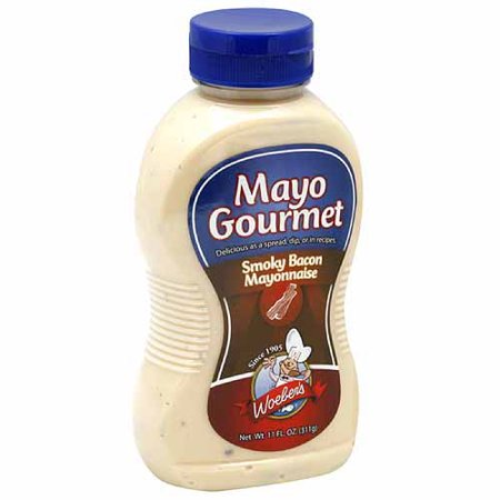 Mayo Gourmet Smoky Bacon Mayonnaise, 11 fl oz, (Pack of 6) - Walmart ...