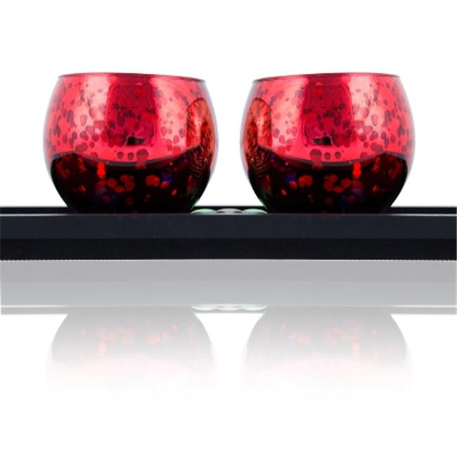 DecorFreak Small Red Pair Of Votive