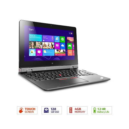 """Lenovo Ultrabook Graphite Black 11.6"""" 20CG001YUS Converti..."""