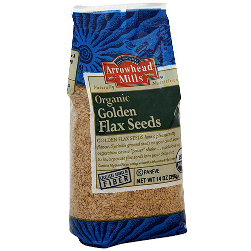Arrowhead Mills Golden Flax Seeds, 14 oz (Pack of 6)