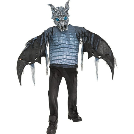 Ice Dragon Boys Light Up - Boys Dragon Costume