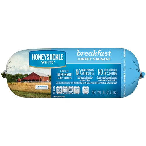 Honeysuckle White Fresh Breakfast Sausage, 1 lb